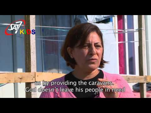 SAT-7 KIDS Iraqi Refugee Mother, Change in the Quality of Life