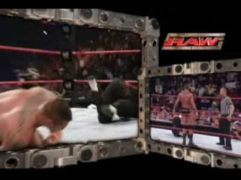 Jeff Hardy Vs Randy Orton in RAW