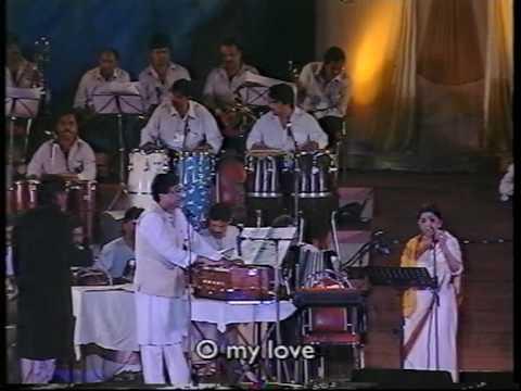 Lata Mangeshkar - Yaara Sili Sili (Live Performance)
