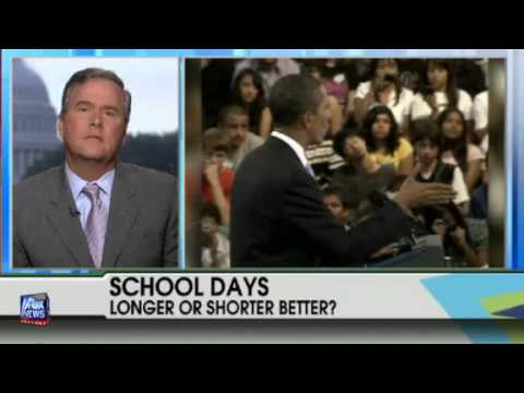 Jeb Bush Talks Education on Fox & Friends