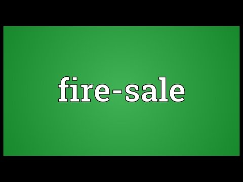Header of fire-sale