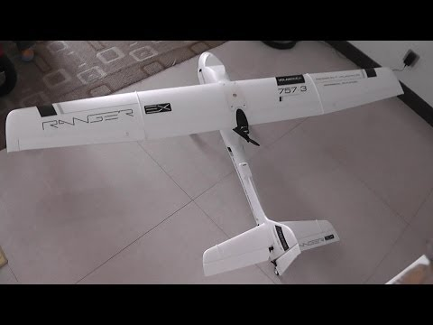 How to assemble FPV Ranger EX Long Range FPV Plane
