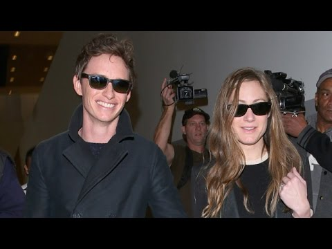 Eddie Redmayne Beaming At LAX After Best Actor Oscar Win