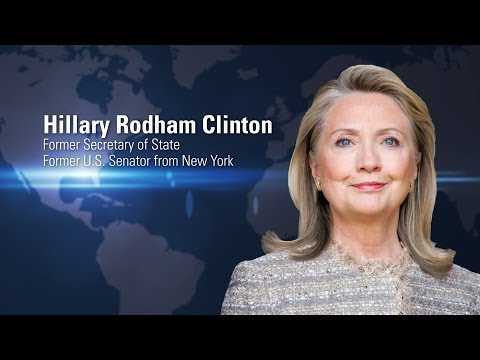 Hillary Rodham Clinton | Globalization of Higher Education