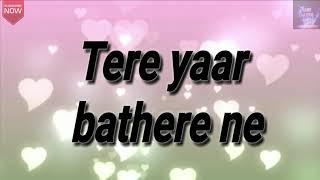 Sakhiyaan new punjabi song  lyrics  Maninder Butta