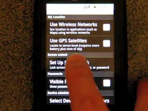 Android Phone Low Memory Problems With The LG Optimus S | How To Make