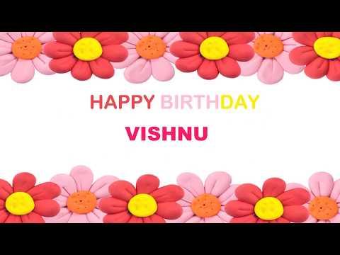 Vishnu   Birthday Postcards & Postales - Happy Birthday