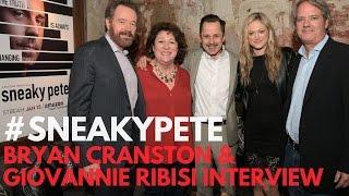 "Bryan Cranston & Giovanni Ribisi Interviewed at Amazon's ""Sneaky Pete"" TCA17 Press Day #SneakyPete"