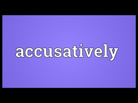 Header of accusatively
