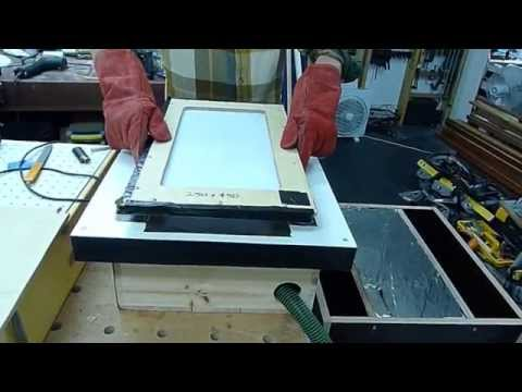 DIY Vacuum Forming Machine 3mm Acrylic Sheet Prototyping Shop Built Home Made
