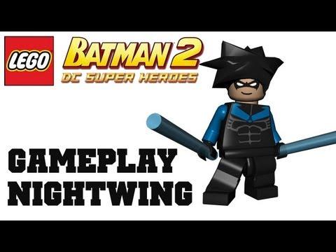 COTV - LEGO Batman 2 Nightwing DLC Gameplay Commentary