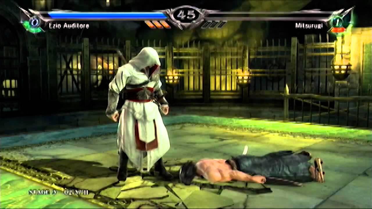 Soul Calibur V Ezio Auditore No Losses Arcade Extreme
