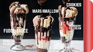 6 INCREDIBLE Desserts In One RIDICULOUS Ice Cream Sundae