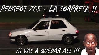 Fiat Uno vs Peugeot 205 - te va a sorprender lo que anda!