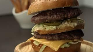 Homemade Super Big Mac! | Fast Food Recipies