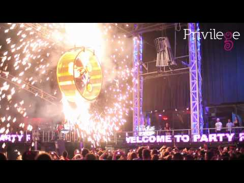 Party Rock Island at Privilege Ibiza 19th Anniversary Live Party Concert