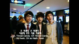 목캔디송(Throat Candy Song) - Sungha and Friends