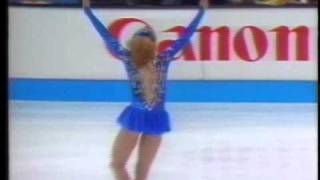 Oksana Baiul (UKR) - 1993 World Figure Skating Championships, Ladies