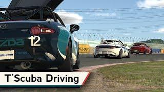 iRacing : T'Scuba Driving (Wk13 MX5 @ Tsukuba)