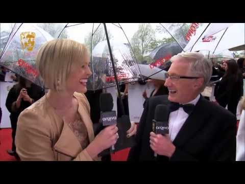 Paul O'Grady - Television Awards Red Carpet in 2013