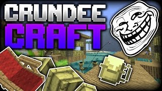 Minecraft: DEADLY LEAPING FROG?! | CRUNDEE CRAFT
