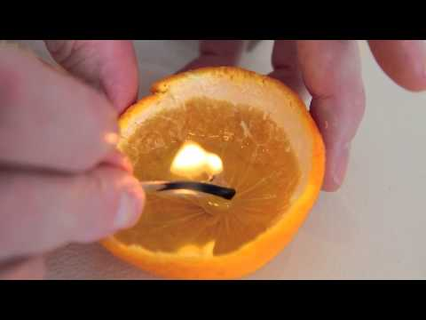 How To Make a Clementine Candle - Apartment Therapy