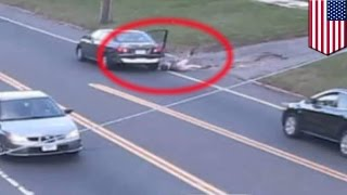 Teen attempted abduction: 17-year-old jumps from car after woman tries to kidnap her - TomoNews
