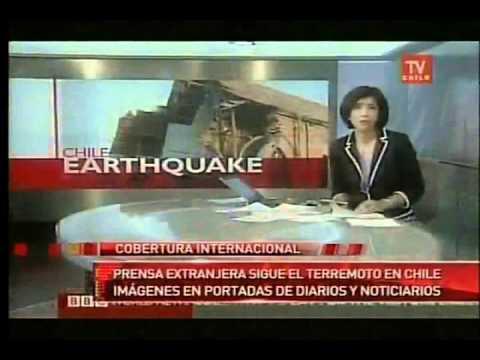 TRAGEDIA CHILE RECOPILACION  TERREMOTO 8.8    / Earthquake