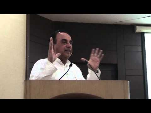 Dr Subramanian Swamy talks about Kashmiri Hindus problems and Solution on 20th April'2013