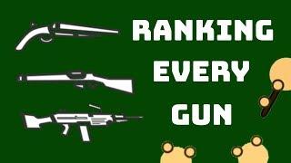RANKING EVERY GUN: WORST TO BEST (Surviv.io)