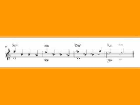 0 Classical guitar sheet music, Orange Tree