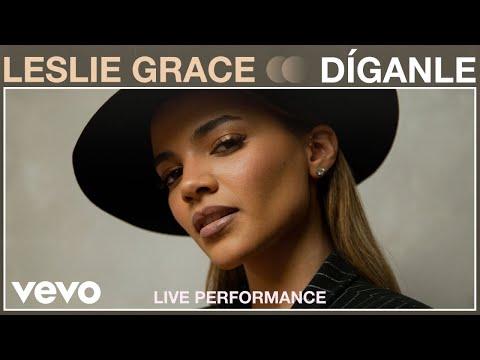 Leslie Grace - Dígnale (Live Performance) | Vevo