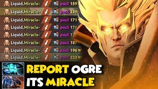 ABSOLUTELY EPIC GAME!!! Miracle Invoker GOD BACK TO PUB- MUST WATCH!!
