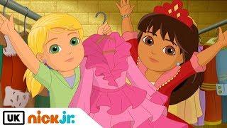 Dora and Friends | Sing Along: Dress Up | Nick Jr. UK