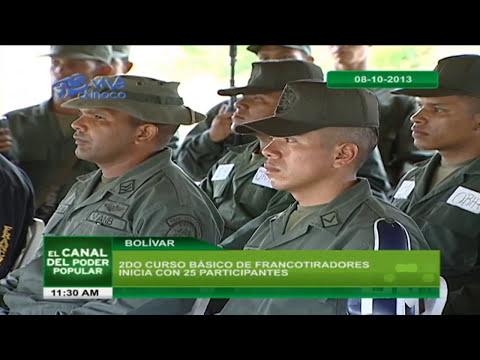 2DO CURSO BÁSICO DE FRANCOTIRADORES INICIA CON 25 PARTICIPANTES