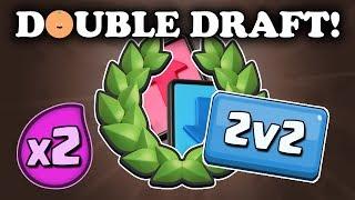 2v2 Double Elixir Draft Challenge | Winning Twice!