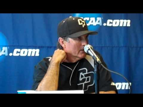 Cal Poly Postgame Presser -- Los Angeles Regional Game 5