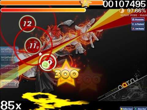[osu!] Yasuharu Takanashi - Fairy Tail Main Theme [Easy] S Rank