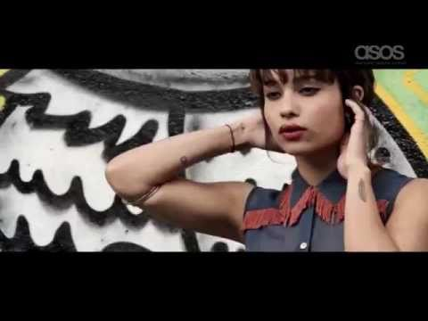 Behind the scenes: ASOS Magazine: Zoe Kravitz