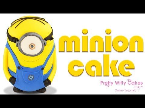 Minion Cake Tutorial Preview - Pretty Witty Cakes