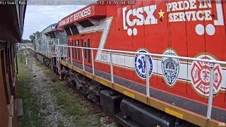 CSX 1776 & 911,  A TRIBUTE TO ALL VETERANS & RESPONDERS!