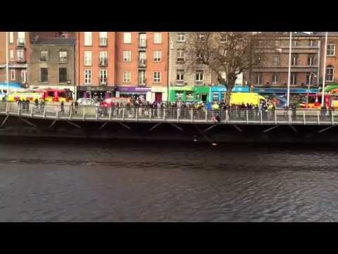Man rescued from Dublin's Liffey River