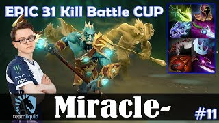 Miracle - Phantom Lancer MID | EPIC 31 KILL Battle CUP | Dota 2 Pro MMR Gameplay #11