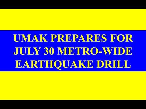 Earthquake Evacuation Plan Drill Evacuation Plan And