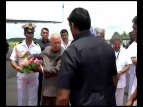 Prime Minister left to New Delhi after Kerala visit on September 2012
