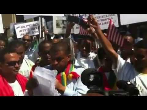 bilal tube - Ethiopian Muslims in America Protest against the DICTATOR Meles Zenawi regime