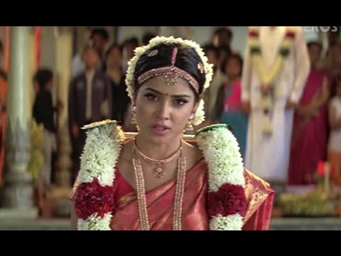 Dhanush Fights Prakash Raj To Marry Shriya - Thiruvilayadal Arambam video