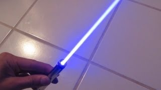 DIY: Burning Blue Laser Pen!! Step by Step Construction and Burning Demo!