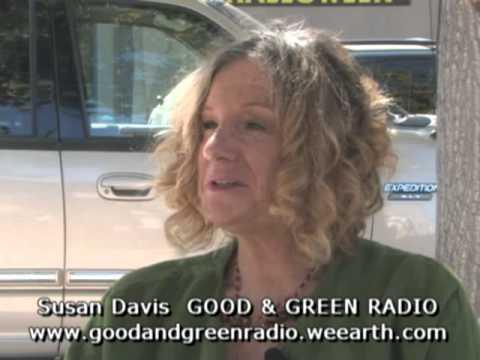 Susan Davis with Good & Green Radio at the 2010 Humane Planet Expo