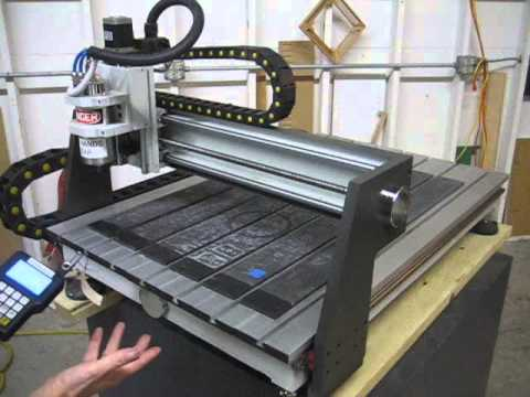 Sold Used Laguna Iq Hhc Benchtop Cnc Router Us0364 Youtube
